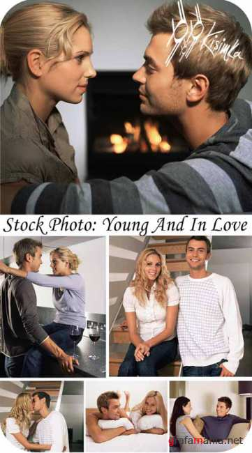 Stock Photo:Young and in love