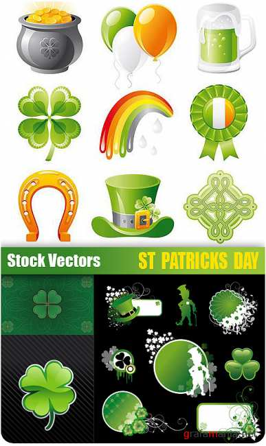Stock Vectors - St. Patrick's Day