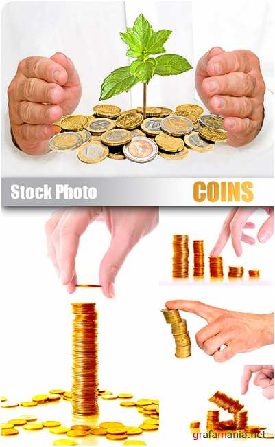 Stock Photo - Coins