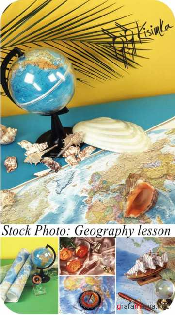 Stock Photo:  Geography lesson