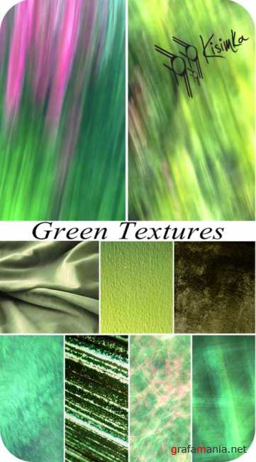 Stock Photo:  Green textures