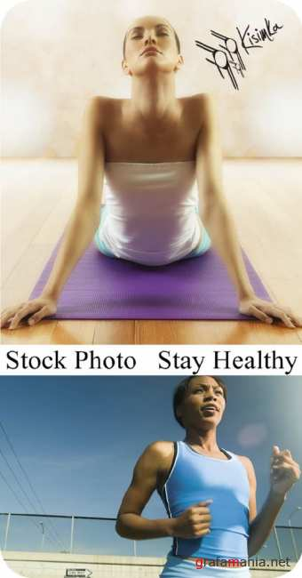 Stock Photo: Stay Healthy