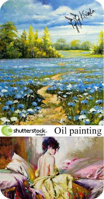 Stock Photo:  Oil painting