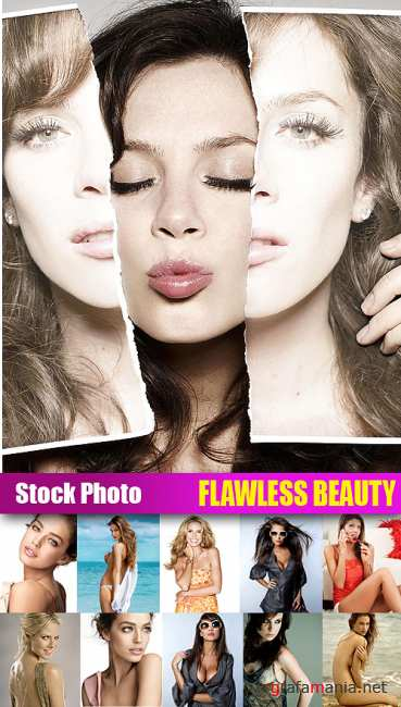Stock Photo - Flawless Beauty