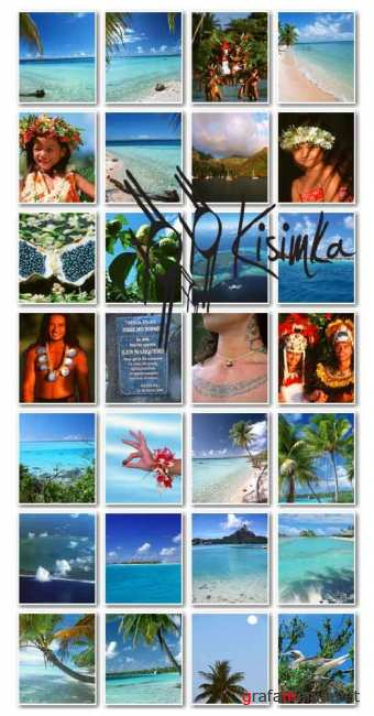 Stock Photo:  Polynesia French region