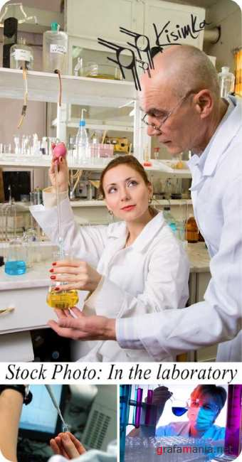Stock Photo: In the laboratory