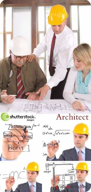 Stock Photo: Architects