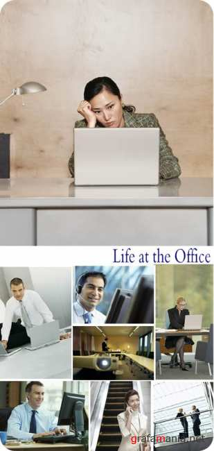 Stock Photo: Life at the Office