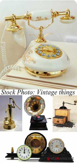 Stock Photo: Vintage things