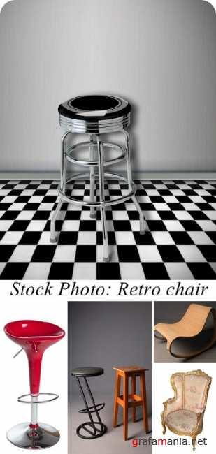 Stock Photo: Retro chair