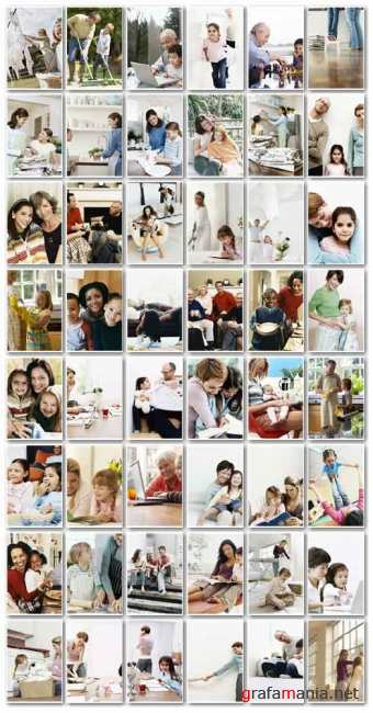 Stock Photo: All About Family