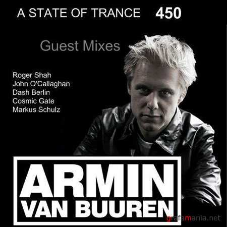 Armin van Buuren presents - A State of Trance 450 Guest mixes (01-04-2010)