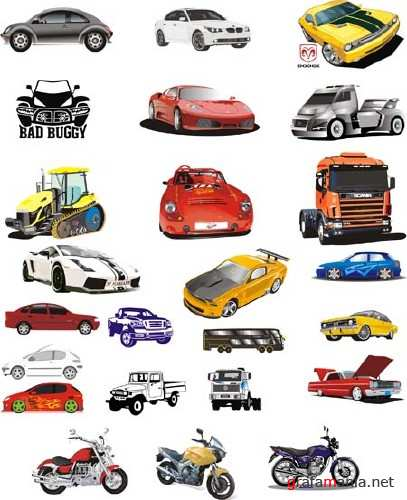 Cars Vector Mix