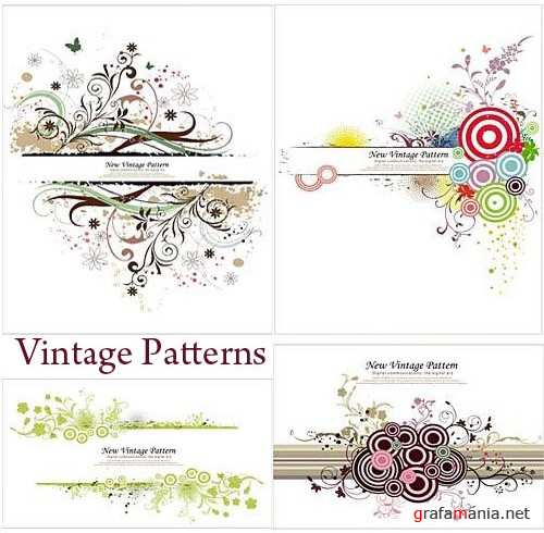Asadal Vector Design - Vintage Patterns