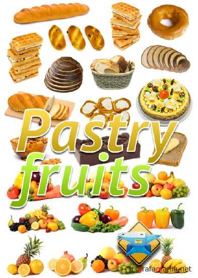 Pastry fruits