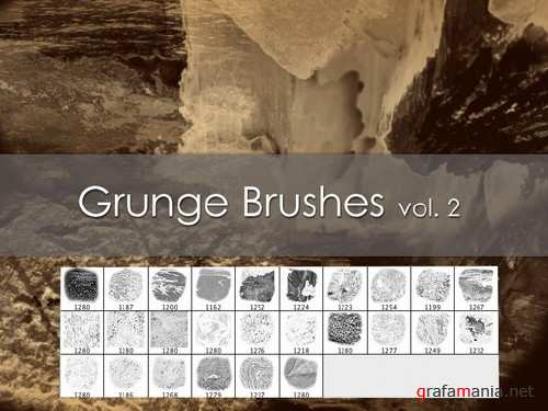 Grunge Brushes vol.2