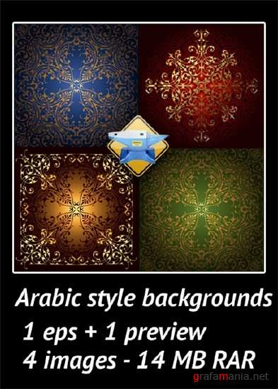 Arabic style backgrounds