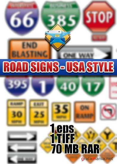 Road Signs - USA Style