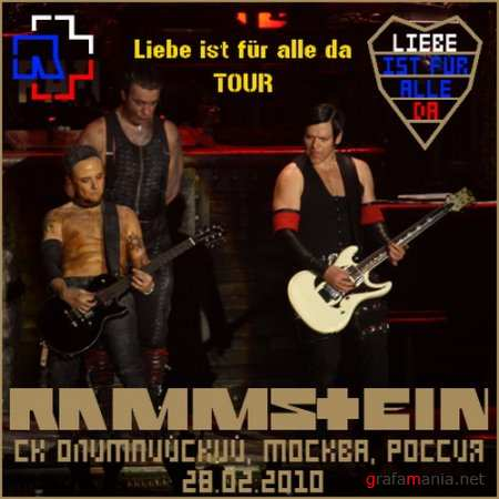Rammstein - Live in Moscow (2010)