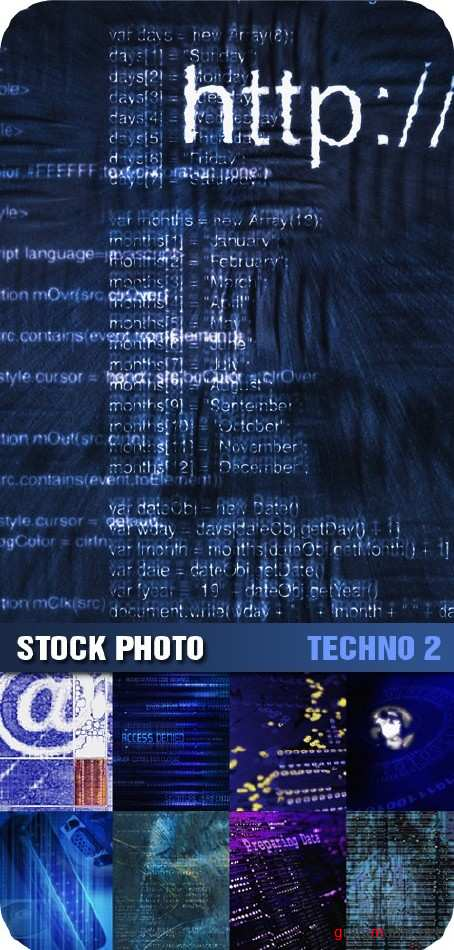 Stock Photo - Techno Backdrops 2