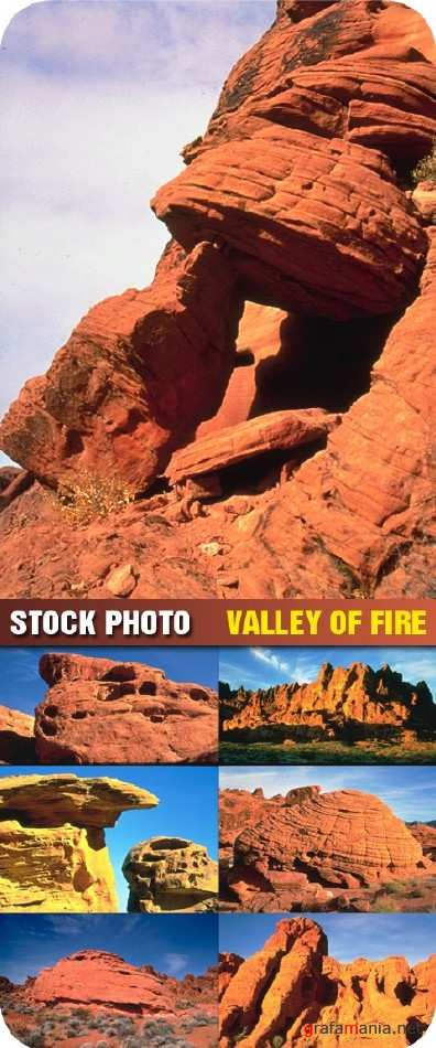 Stock photo - Valley of Fire