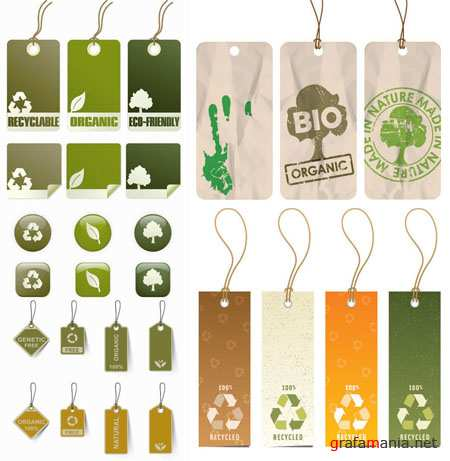 Eco Vector Labels