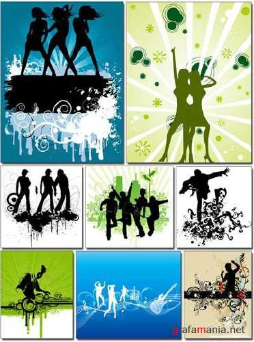 People and Music Vectors