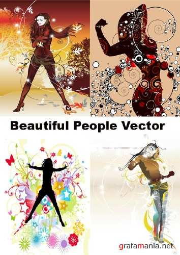 Beaufiful People Vector Mix