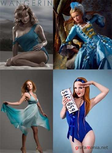 Creative Photoworks - Ladies in Blue