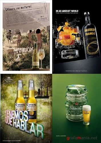 Modern Advertisment - Alcohol 2