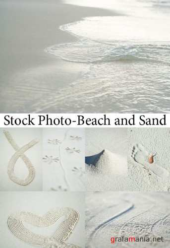 Stock Photo-Beach and Sand