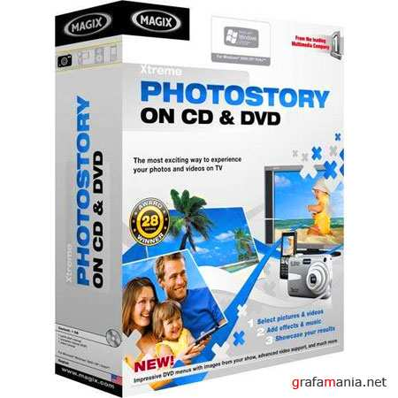 MAGIX Xtreme Photostory on CD/DVD Deluxe 9.0.3.2 (x32 / 2010)