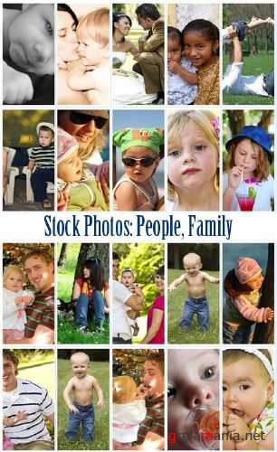 Stock Photos - People, Family