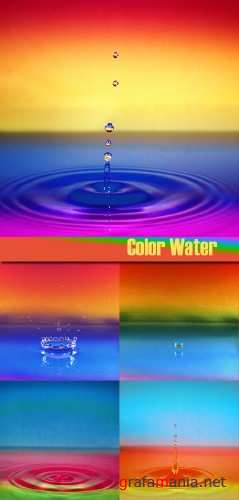 Stock Photo - Color Water