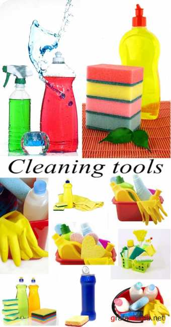 Stock Photo: Cleaning tools
