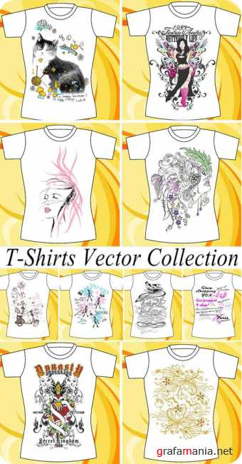T-Shirts Vector Collection