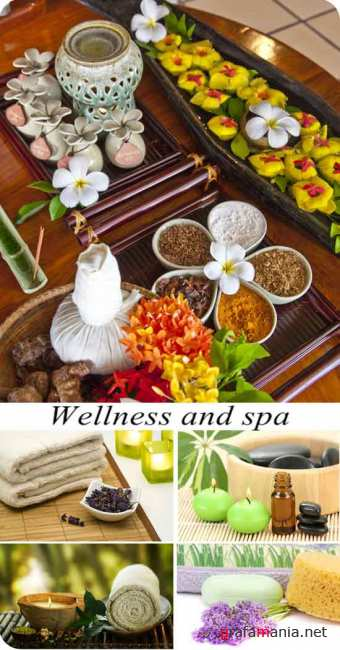 Stock Photo: Wellness and spa
