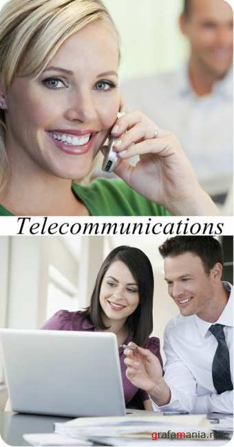 Stock Photo: Telecommunications