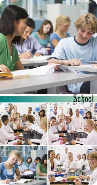Stock Photo: School