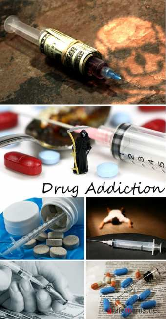Stock Photo: Drug Addiction