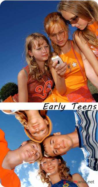 Stock Photo: Early Teens