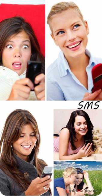 Stock Photo: SMS