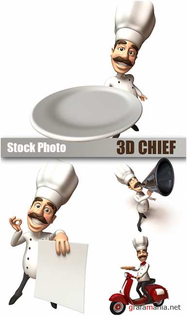Stock Photo - 3D Chief