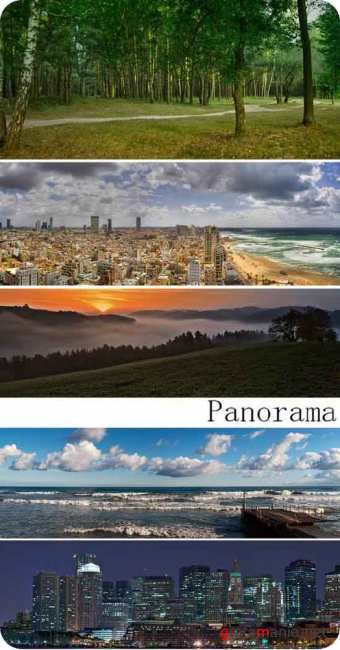 Stock Photo: Panorama
