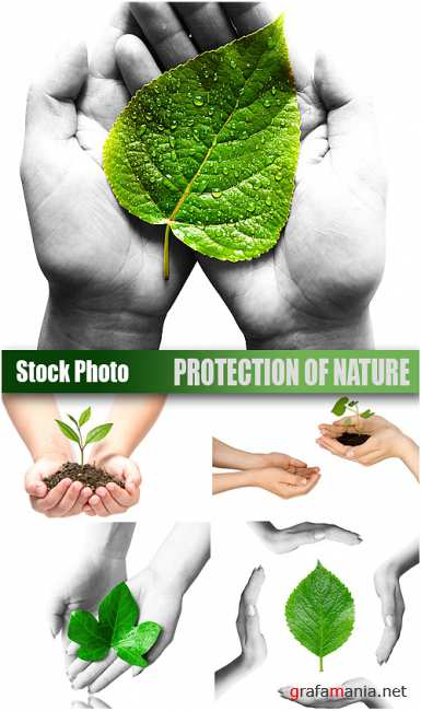 Stock Photo - Protection of nature