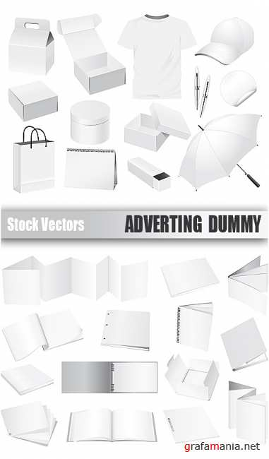 Stock Vectors - Adverting dummy