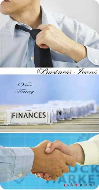 Stock Photo: Business Icons