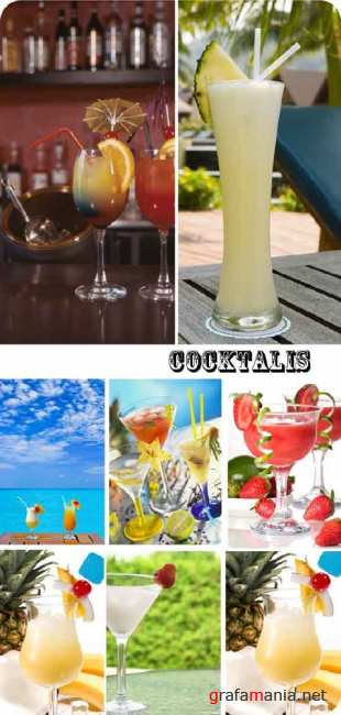 Stock Photo:  Cocktails