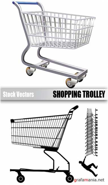 Stock Vectors - Shopping trolley