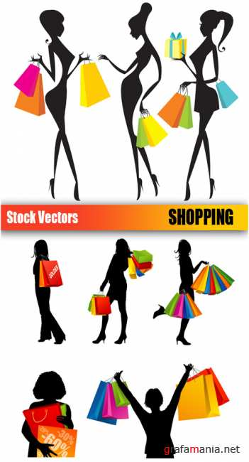 Stock Vectors - Shopping